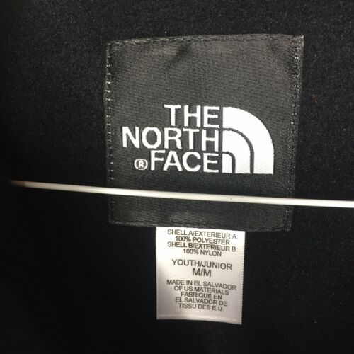 The North Face Youth Denali Fleece Jacket Black Kids Size Small 6-8 Med 10-12