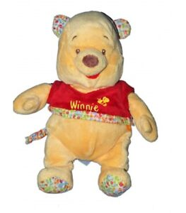 Doudou-peluche-Musicale-Winnie-L-039-ourson-Abeille-Disney-Baby-Ne-fonctionne