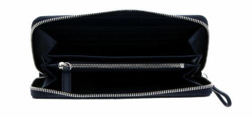Lacoste Chantaco Long Zip Wallet L Portefeuille Eclipse Bleu Nouveau