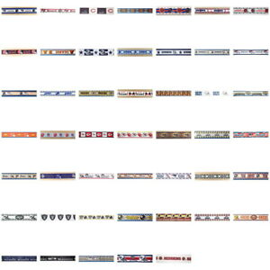 By-the-yard-NFL-SPORT-Football-Theme-Ribbon-Trim-Scrapbooking-amp-Hair-Bow-Making
