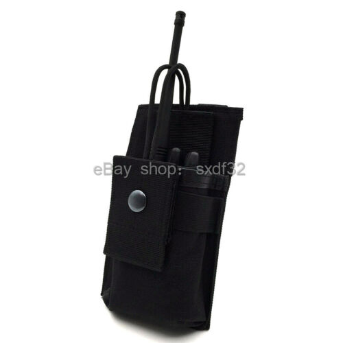 Tactical Adjustable Molle System Nylon Attachment Interphone Radio Case Bag