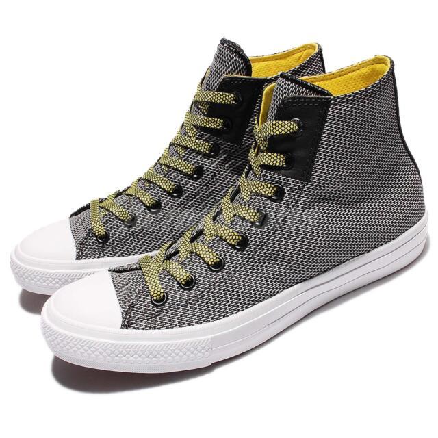 b45085f9de0d Converse Chuck Taylor All Star II Black White Yellow Men Classic Shoes  155536C
