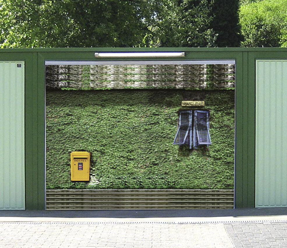 3D Edera Verde 60 Garage Porta Stampe Parete Decorazione Murale AJ WALLPAPER IT
