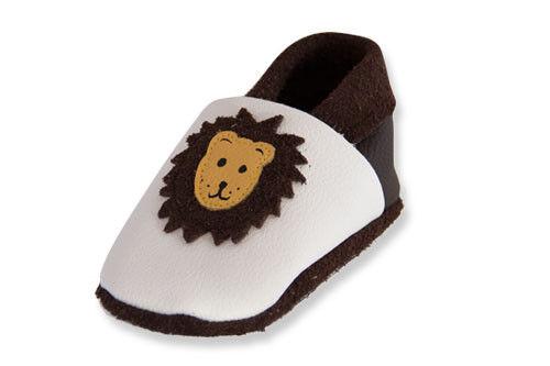 Krabbelschuhe Lederpuschen Lauflernschuhe Leder Babyschuhe Pantoffel Schluppie®