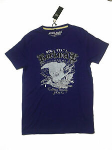NEU-Jack-and-Jones-T-Shirt-Kurzarm-Lila-Gr-M-1600301-5