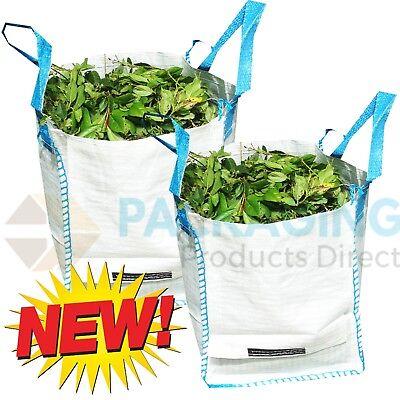 Mini One Tonne FIBC Ton Dumpy Jumbo Bags Builders Garden Rubble Aggregate Sack