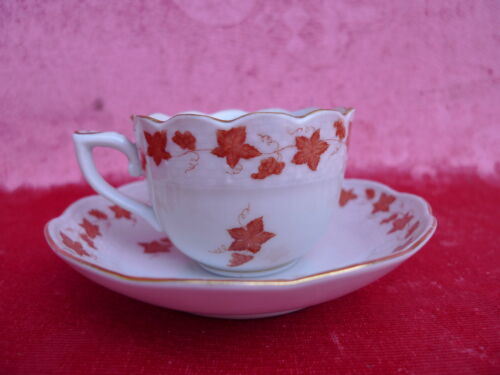 beautiful,antique Collection cup__Moccha Cup___Herend__rare