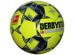 Derbystar-Fussball-Bundesliga-Player-Gr-5-Training-Fussball-gelb-Freizeitball