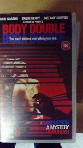 RARE-VHS-TAPE-039-BODY-DOUBLE-039-BRIAN-DE-PALMA