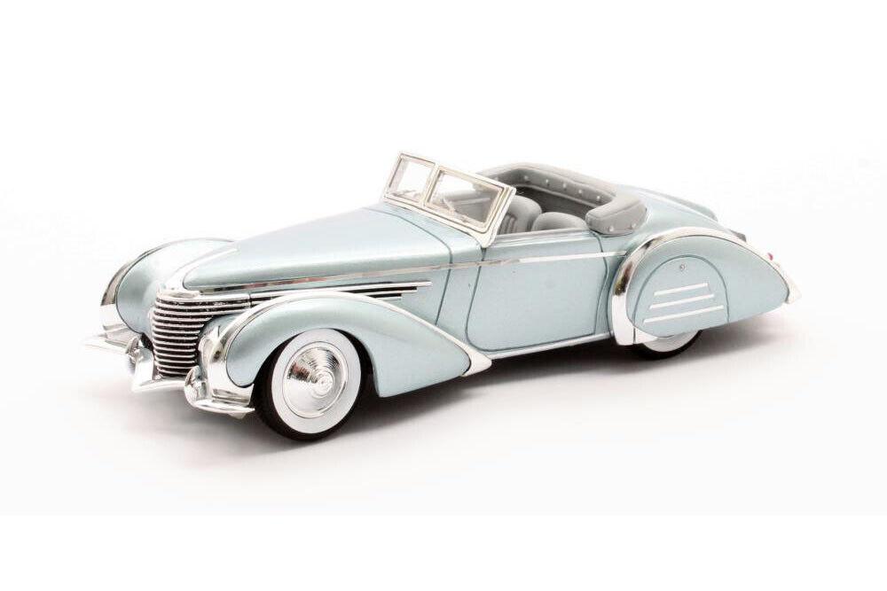 Scale model car 1 43 DELAHAYE 145 V12 Franay Cabriolet  48772-3 1937 Metallic Bl