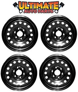 Steel-Wheel-Rim-17-inch-Wheels-Set-of-4-for-07-17-GMC-Yukon-or-Yukon-XL-1500