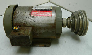 US Electric 1 HP AC Motor, 230-460V FR: 145TC, 1145 RPM, Mod# F031, P63CRT-2904