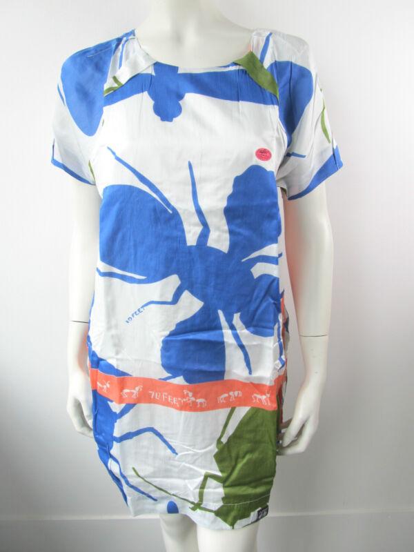 10feet 10 Feet Kleid Kleed Dress Jurk Off White Neu Xs S M