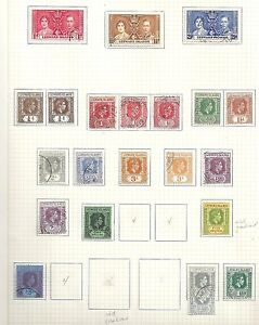 Leeward Islands collection of 22 stamps HIGH VALUE!