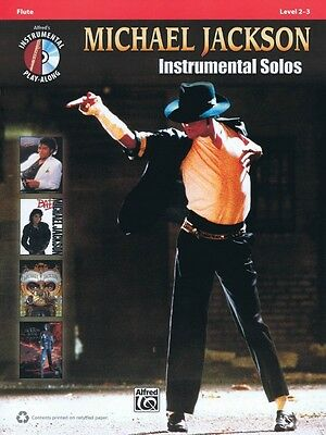 Instruction Books, Cds & Video Michael Jackson Instrumental Solos Flute Instrumental Folio Book And C 000119495 Highly Polished