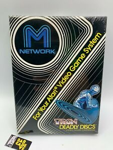 Tron-Deadly-Discs-Atari-2600-1982-Brand-New-Factory-Sealed-Unopened-NEW