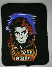 VAN HALEN Vtg 1980`s Printed Patch/écusson/aufnäher/parche not shirt lp cd badge