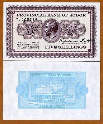 5 shillings KGV Train Limited Private issue Isle of Sodor Specimen UNC
