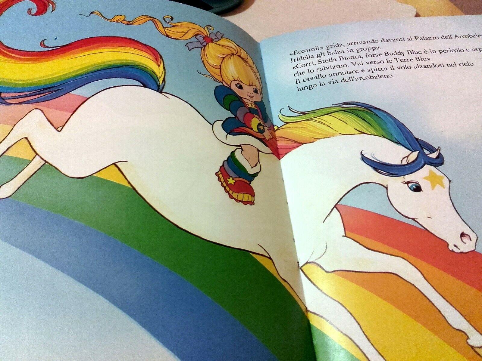 Iridella -Rainbow -Rainbow -Rainbow Brite-libro AMZ - anni '80 NUOVO a80283