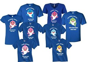 Baby-Shark-Mommy-Daddy-Shark-Doo-Doo-Doo-Party-Family-Shark-birthday-T-Shirts
