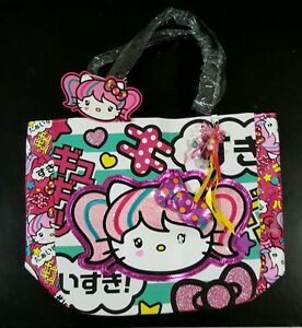 ceb7c1b96ff5 Image is loading Hello-Kitty-Japanimation-bag-w-3D-Bow-Loungefly-