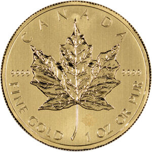 Canada-Gold-Maple-Leaf-1-oz-50-9999-Fine-Random-Year