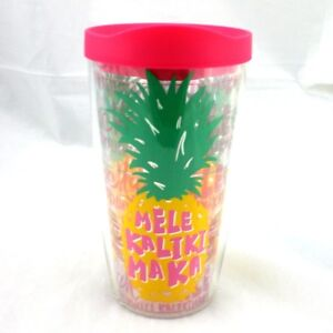 3e31c95dd19 Mele Kalikimaka Pineapple Tervis 16Oz Tumbler NEW Pink Lid Christmas ...
