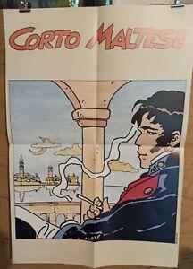 Affiche-Corto-Maltese-Hugo-Pratt-Poster-48x69-cm-pliee-en-4