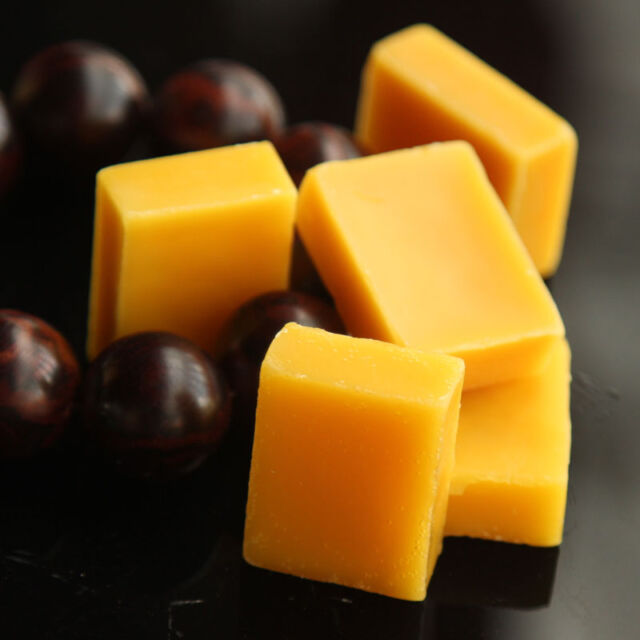 Beeswax Cosmetic Grade Filtered Natural Pure Yellow Bees wax 2oz-bar M2H7