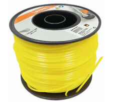 Genuine Stihl Strimmer Line Wire 3mm x 168M Yellow Square 0000 930 2619 Tracked