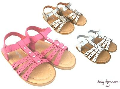 Baby Infant toddler girls sandals size 4-8 clearance new