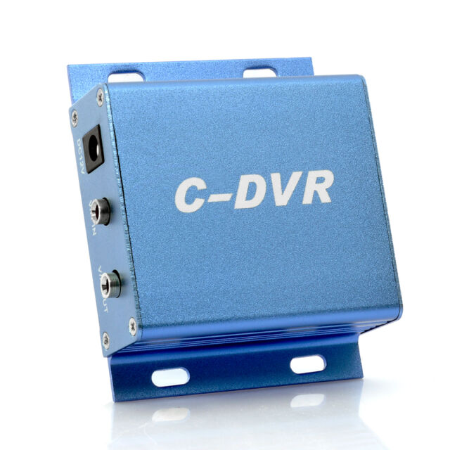 Mini C-DVR 1 Channel Video/Audio Motion TF Card Recorder For IP Camera CCTV FT