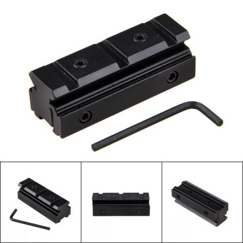 11mm Prismenschiene auf 20mm Weaver Picatinny Zielfernrohr Montage Rail Adapter