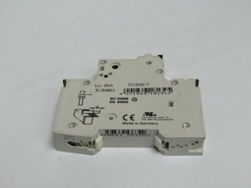 LOT OF 2 SIEMENS CIRCUIT BREAKER 2A 2 A AMP 5SY41 C2 5SY4102-7 1P 1 POLE