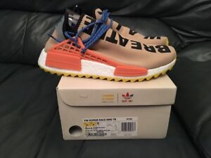 new style 46fe8 10f54 Details about 2017 ADIDAS NMD TR HUMAN RACE PHARRELL WILLIAMS PALE NUDE HU  SIZE UK 7 & 11 NEW
