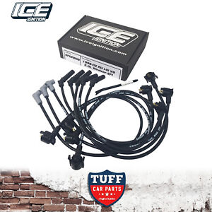 AU-Ford-Falcon-5lt-302-V8-9mm-ICE-Ignition-Performance-Leads-Black-1998-2002