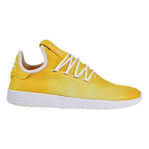 54f348fa745f9 Adidas PW Pharrell Williams HU Holi Tennis Men s Shoes Yellow White ...