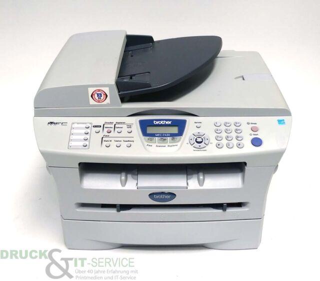 Brother MFC-7420 MFP Laserdrucker sw gebraucht