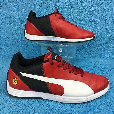 Molestar Cielo auxiliar  PUMA FERRARI evoSPEED 1.4 SF Red/Black racing/driving shoe 37 womens 6 /  youth 5 | eBay