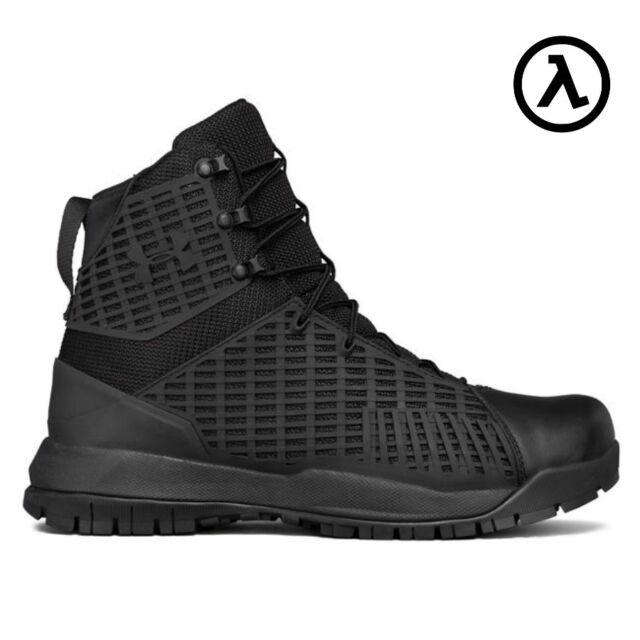 6ba29aa80da7 Under Armour 1299242 Men s UA Stryker Black Tactical BOOTS 10 US 9 ...