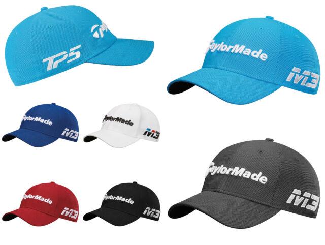 0f059245934 TaylorMade 2018 GOLF CAP M3 TP5 Golf New Era 39 Thirty Tour Stretch Fit Cap  Hat
