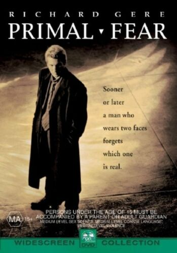 1 of 1 - Primal Fear (DVD, 2009) Richard Gere.