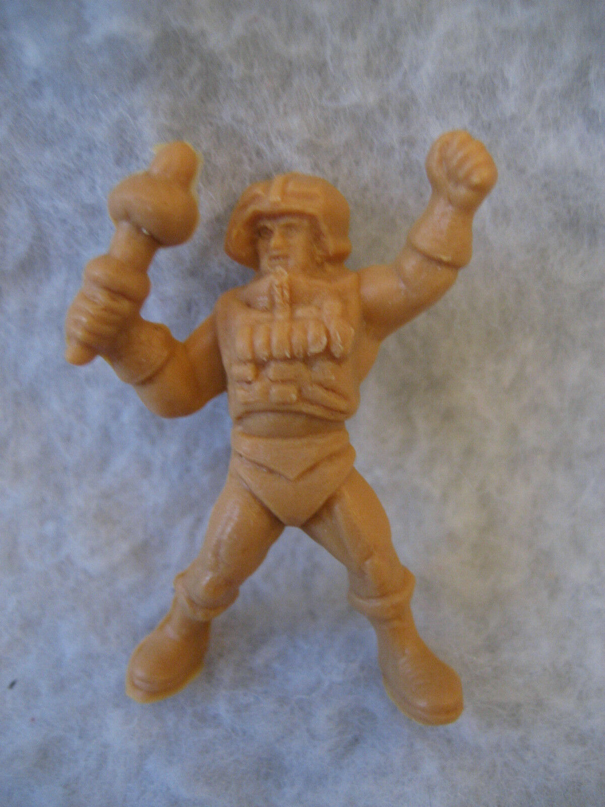 1985 vintage MAN AT ARMS Panrico Dunkin MASTERS OF OF OF THE UNIVERSE figure RARE toy 365f4f