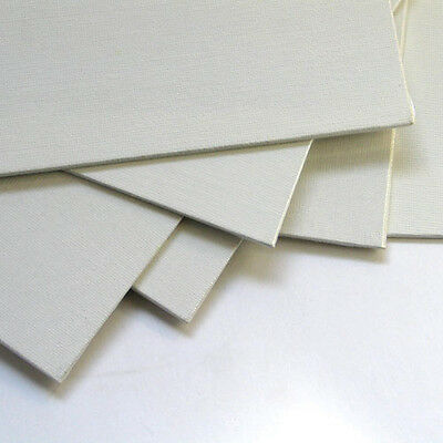 6-PACK 8 X 10 Cotton Stretched Canvas Panels