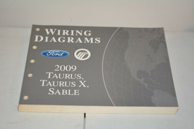 2009 Ford Taurus Mercury Sable Wiring Diagram Repair Book
