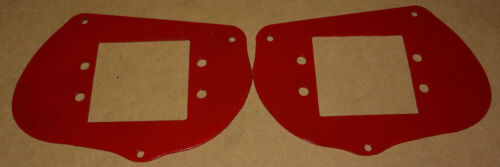 Red LED Head Light Pod Mount Bracket Kit Polaris Sportsman 1000 850 RZR 800 900