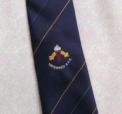 Affidabile Vintage Rugby Cravatta Da Uomo Cravatta Retro Sport Ynysowen Rfc-mostra Il Titolo Originale Ultima Moda