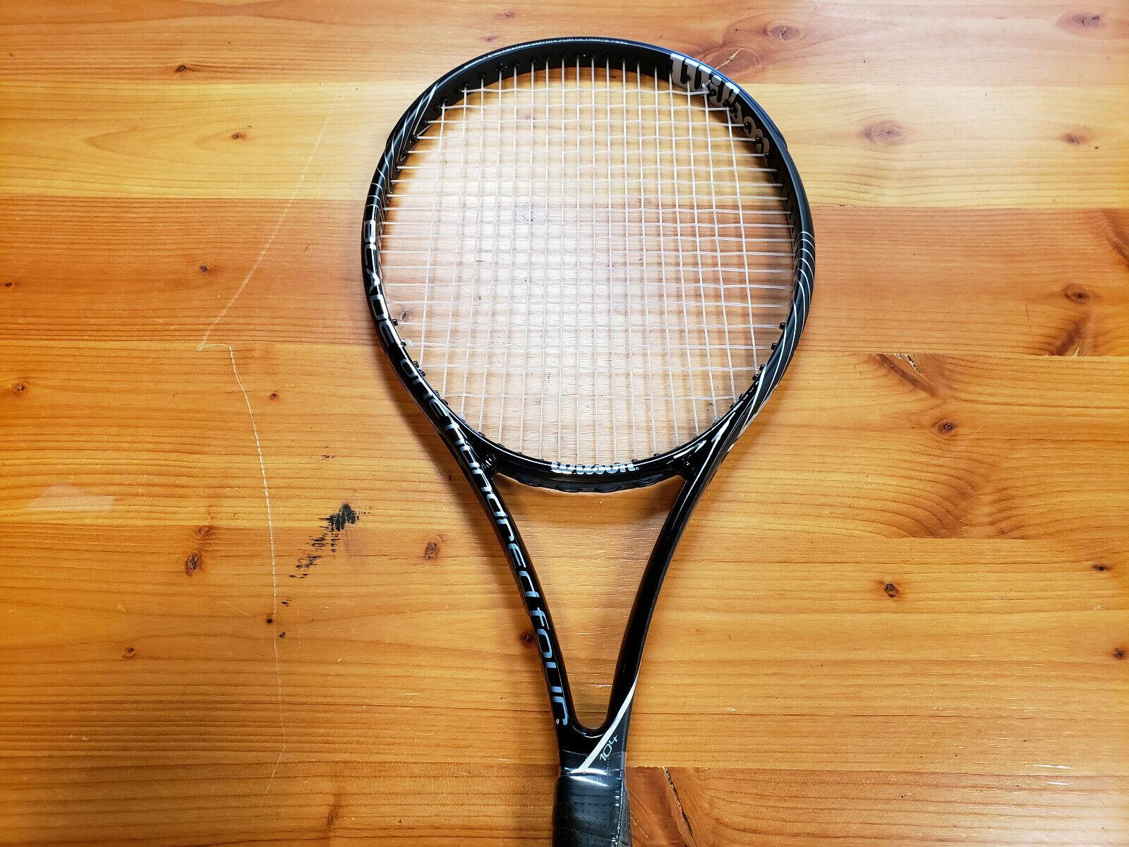 Wilson BLX Blade 104 Tennis Racquet Grip Size 4_1 8