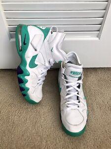 zapatillas nike hombre blanco y verde