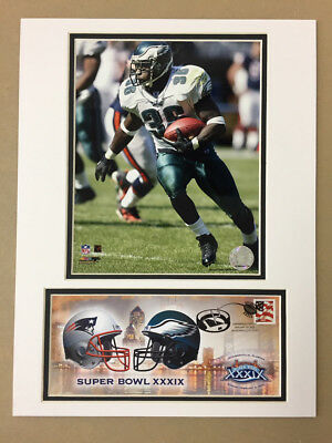 NEW ENGLAND PATRIOTS SUPER BOWL  XXXIX 12X16 MATTED PHOTO /& EVENT COVER